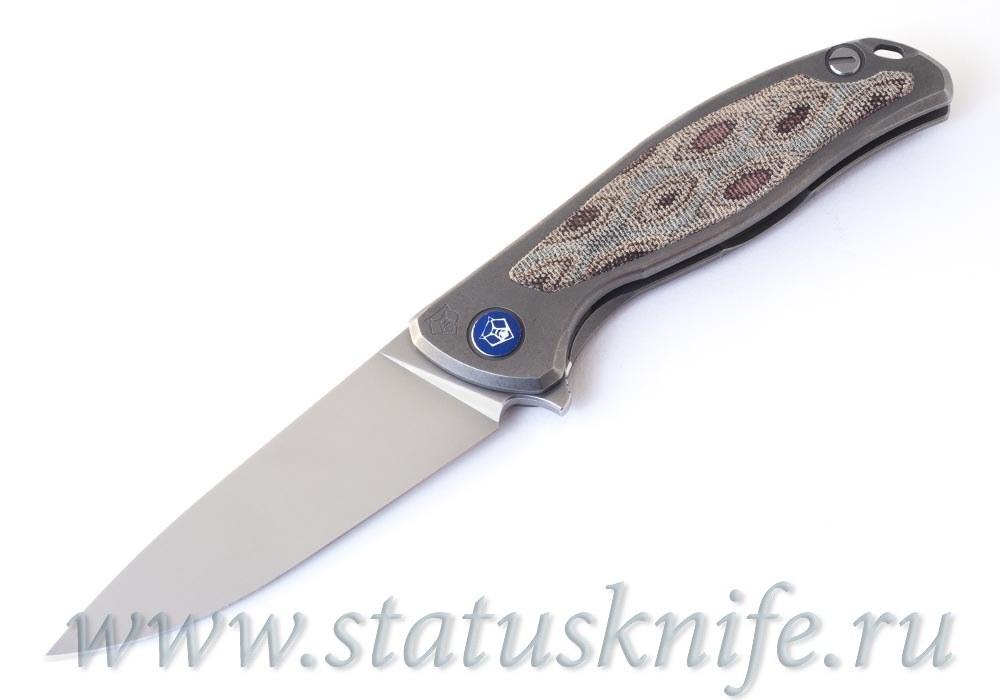 Нож Широгоров Флиппер 95 NL Python Элмакс - фотография