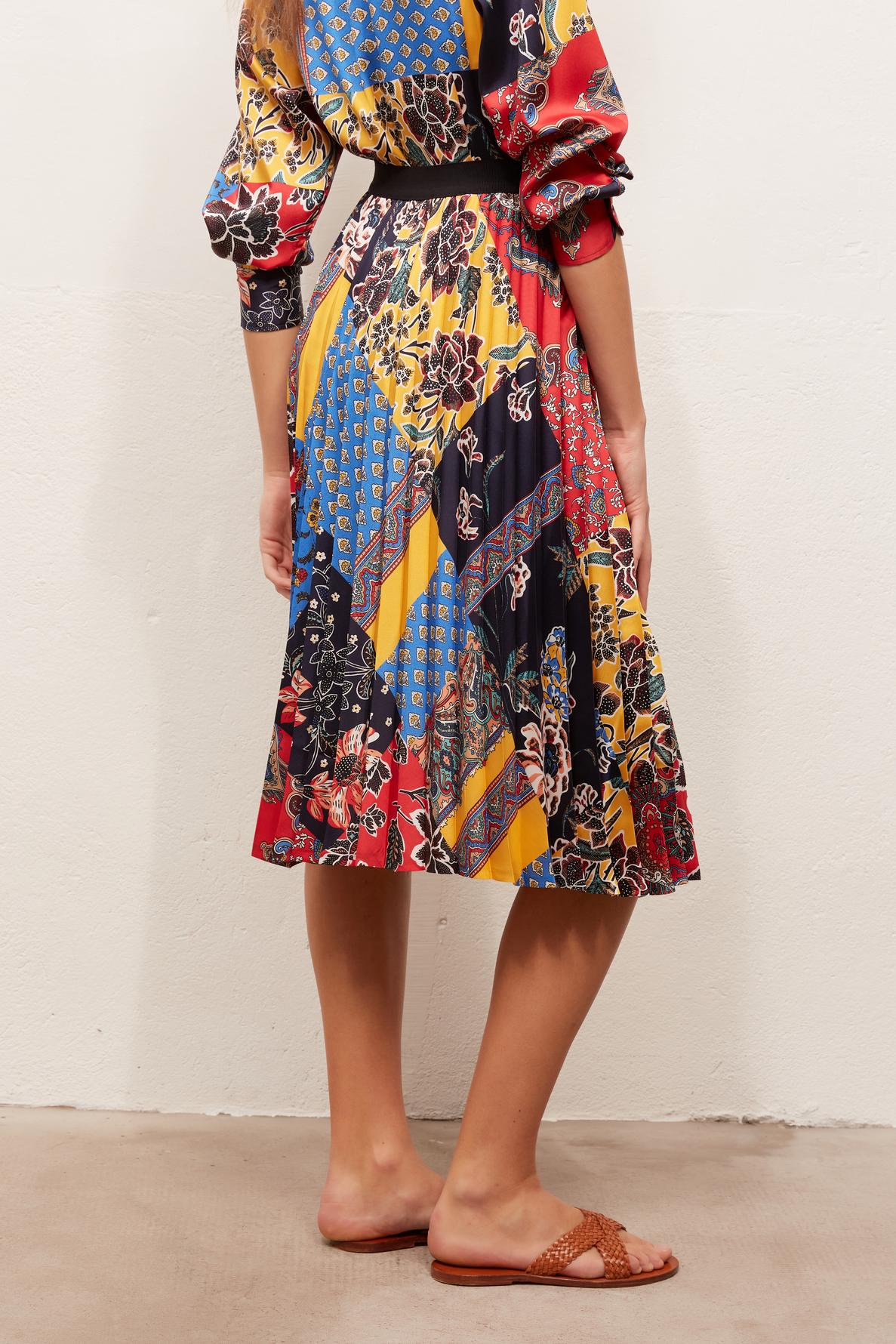 LAVINIA - плиссированная юбка-солнце
