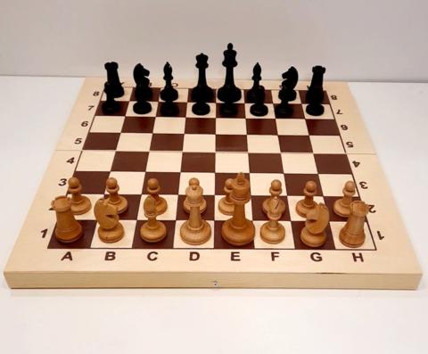 Шахматы турнирные Баталия №5 утяжеленные