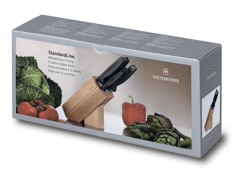 Набор Victorinox кухонный, 5 предметов, в подставке