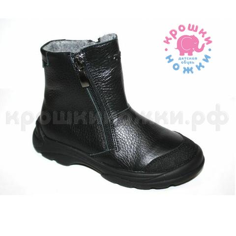 Ботинки черные на молнии Тотто (ТРК ГагаринПарк)