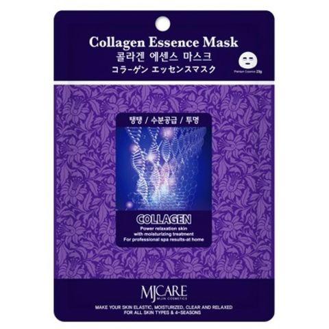 Тканевая маска для лица коллаген MIJIN Care Mask