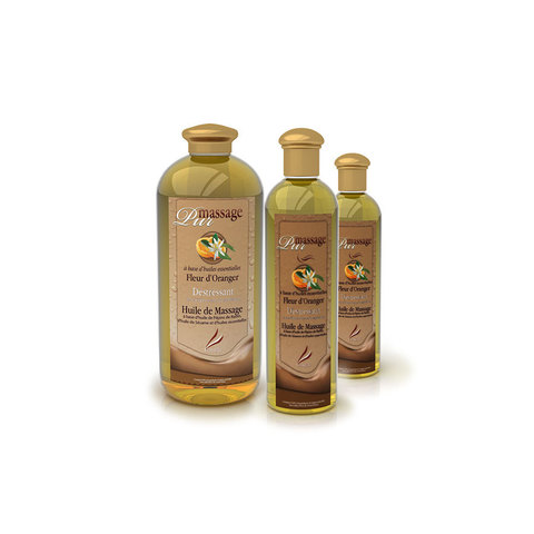 Массажное масло Camylle Цветок апельсина Массажное масло Цветок Апельсина 1000