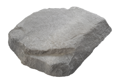 Декоративный камень для садовой розетки TrueRock Mini Cover Rock, Greystone