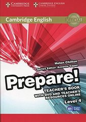 Cambridge English Prepare! Level 4 Teacher's Bo...