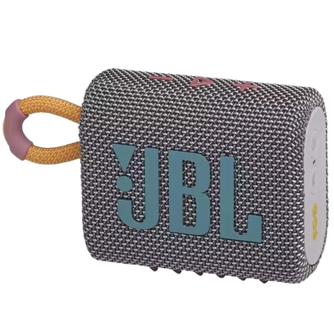 JBL Go 3 Grey - колонка портативная серая