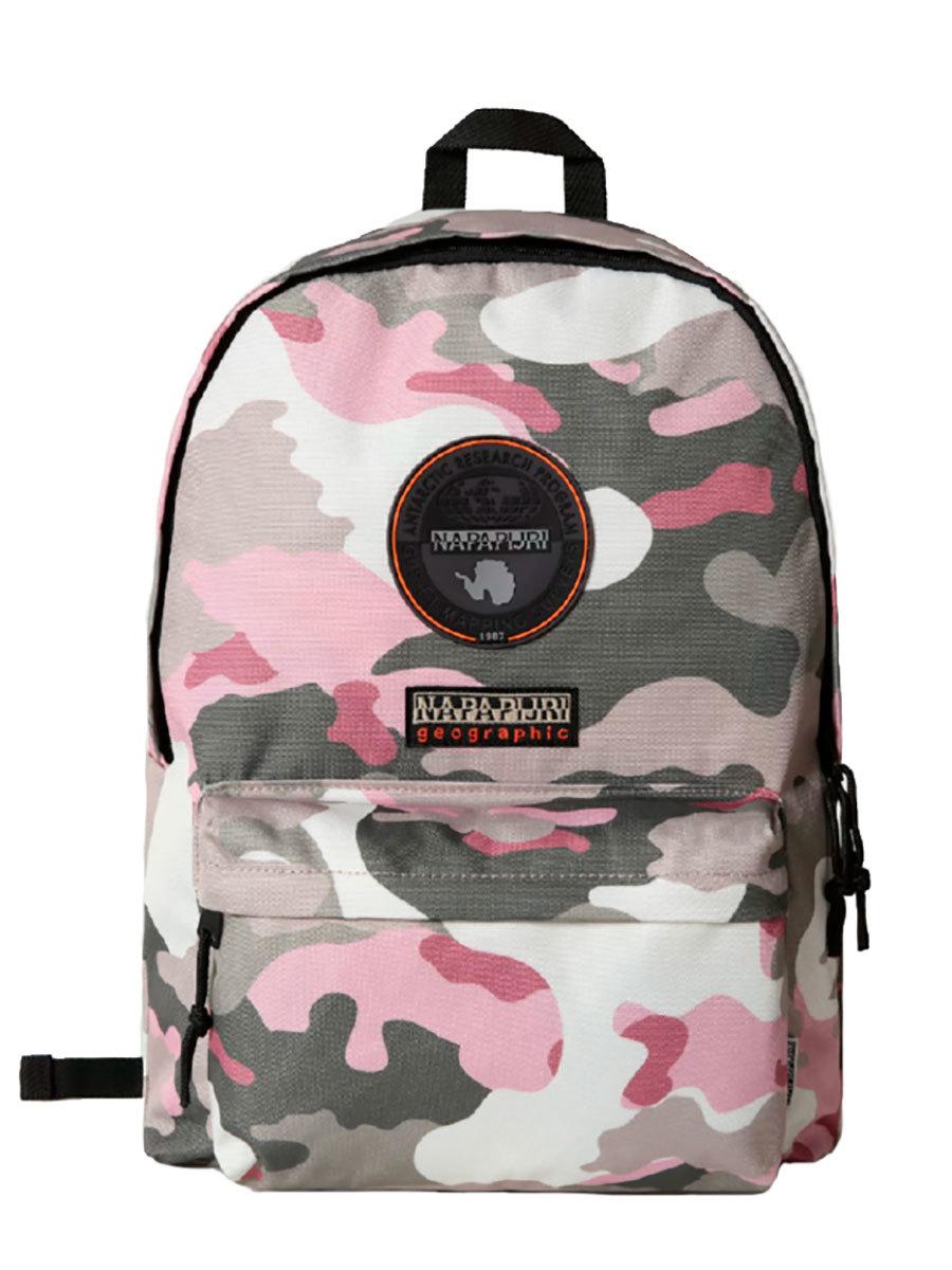 Napapijri рюкзак Voyage S Print темно-розовый камуфляж