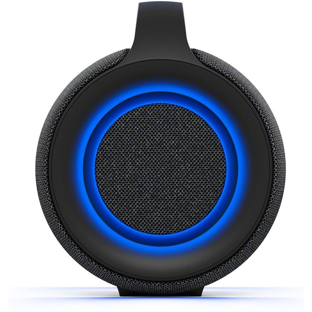 Портативная акустика Sony SRSXG500B сбоку