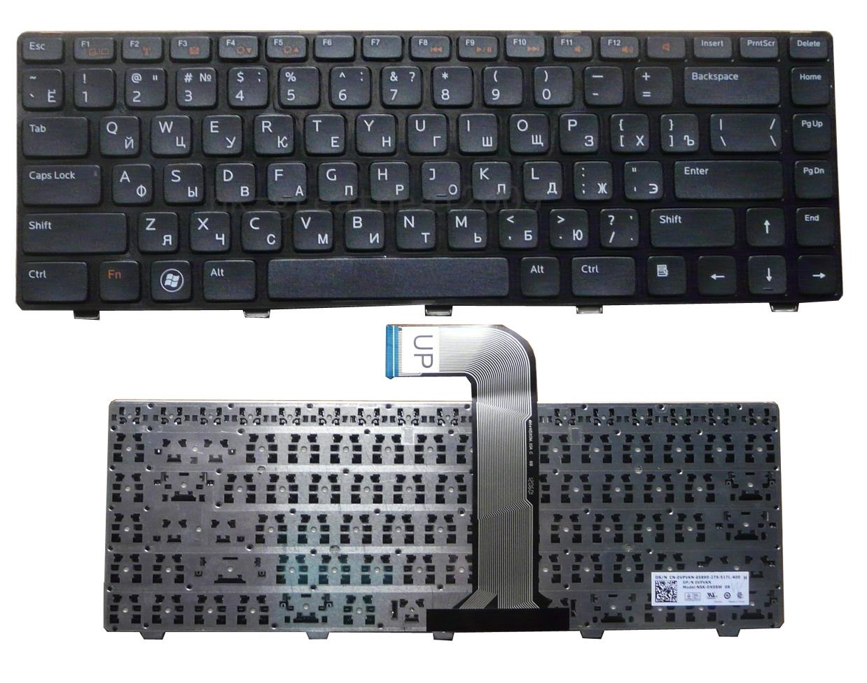 Клавиатура для ноутбука Dell L502X M5040 N5050 N5040