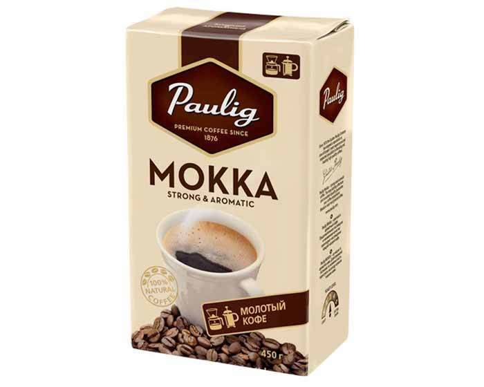 Кофе молотый Paulig Mokka, 450 г