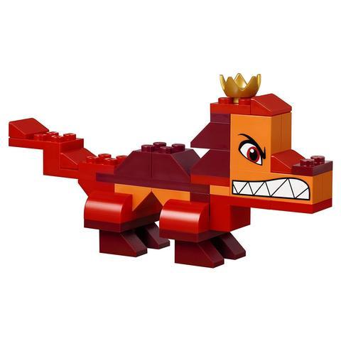 LEGO Movie: Шкатулка королевы Многолики Собери что хочешь 70825 — Queen Watevra's Build Whatever Box! — Лего Муви Фильм