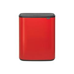 Мусорный бак Touch Bin Bo (2 х 30 л), Пламенно-красный