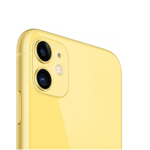 Смартфон Apple iPhone 11 128GB Yellow (желтый) -РОСТЕСТ-
