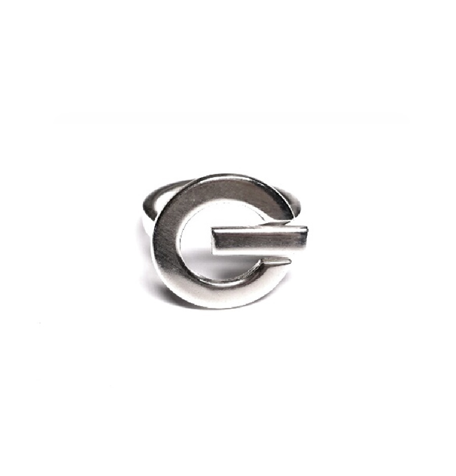 Ring Turn On, sterling silver