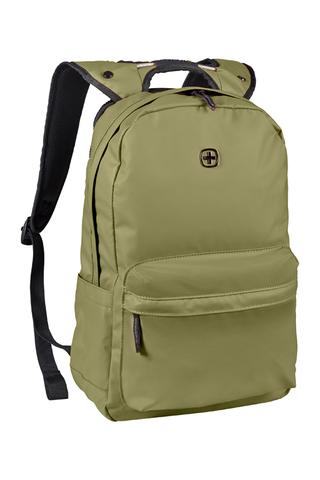 Городской рюкзак с водоотталкивающим покрытием оливковый (18 л) WENGER Photon 605034