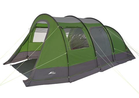 Палатка Trek Planet Vario Nexo 4, зеленая, 220x280x190 см