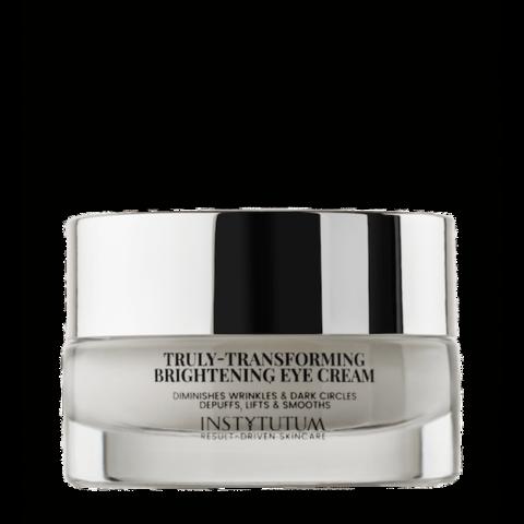 Крем-лифтинг для кожи вокруг глаз с осветляющим эффектом Truly -Transforming Brightening, Instytutum, 15 мл.