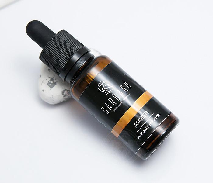 RAZ4003 Парфюмированное масло для бороды Barbaro «AMBER» (30 мл)