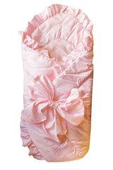 Папитто. Конверт-одеяло с завязкой, 100х100 см розовый вид 4
