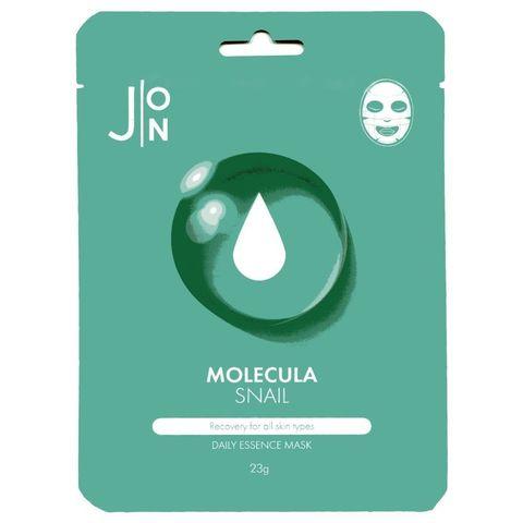 Тканевая маска для лица УЛИТОЧНЫЙ МУЦИН J:ON Molecula Snail Daily Essence Mask 23 мл