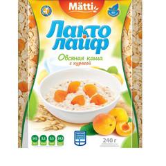 Каша Лактолайф овсяная с курагой 6 штук по 40 г