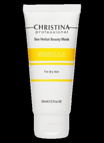 Christina Маска красоты на основе морских трав для сухой кожи «Ваниль»  | Sea Herbal Beauty Mask Vanilla for dry skin 60ml