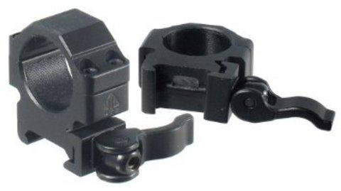 Кольца UTG Leapers на Weaver, низкие, 25,4 мм [RQ2W1104]