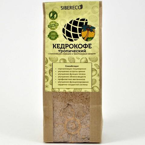 Кедрокофе Тропический с тростниковым сахаром Sibereco, 250г