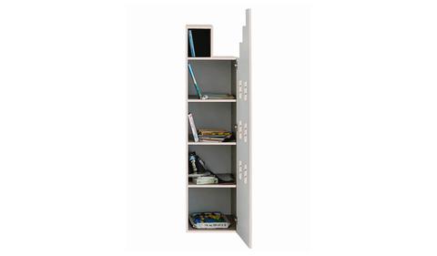 Детский книжный шкаф-домик