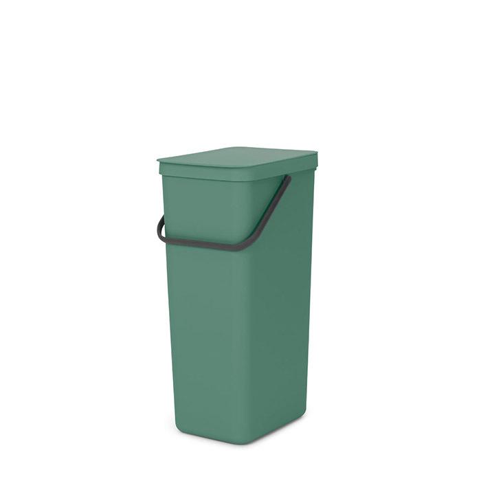Встраиваемое мусорное ведро Sort & Go (40 л), Темно-зеленый, арт. 251023 - фото 1