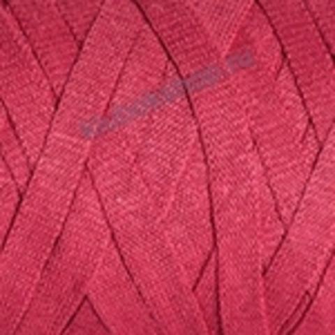 Ленточная пряжа YarnArt Ribbon цвет 766 красный