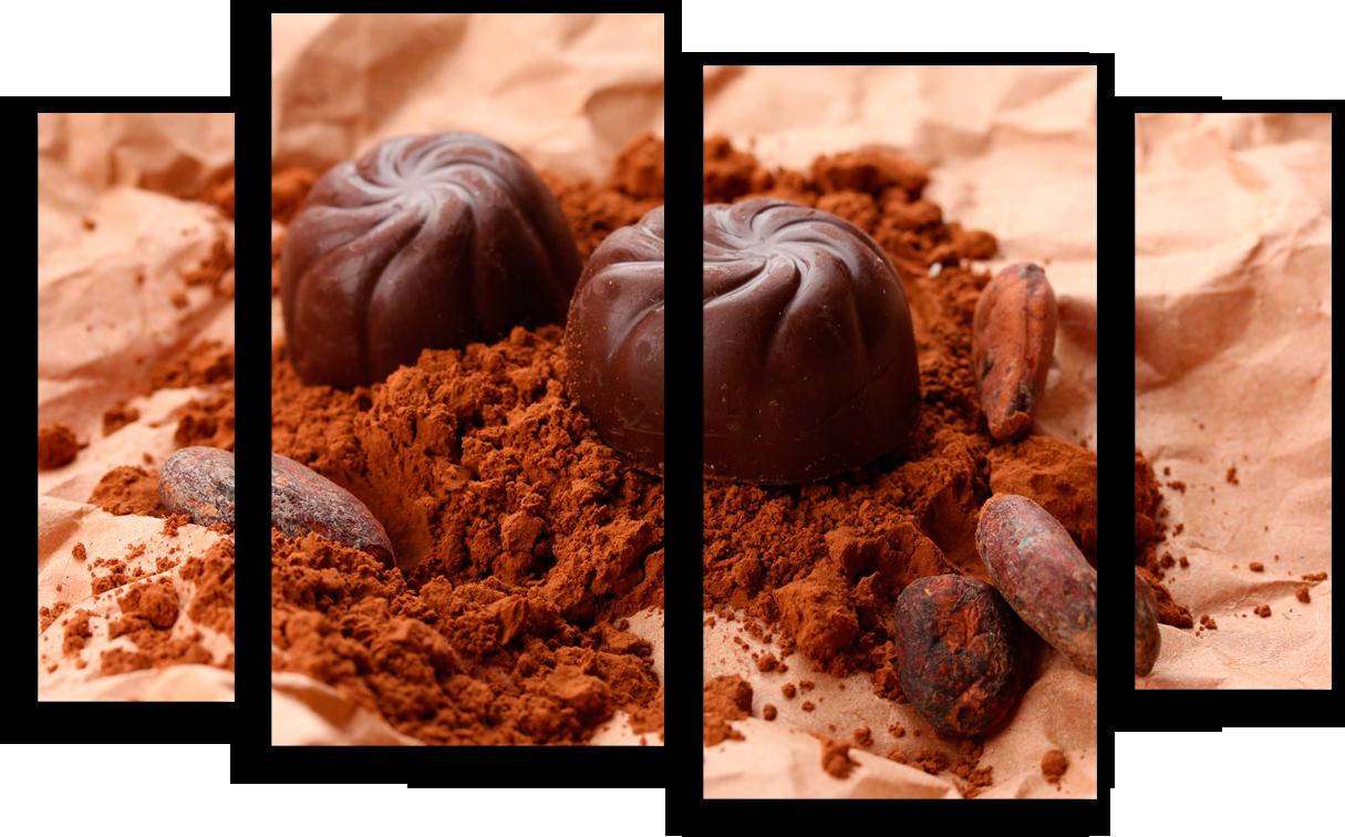 """Еда Модульная картина""""Шоколадное удовольствие"""" М309.png"""