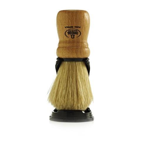 Помазок для бритья omega натуральный кабан на подставке 80005