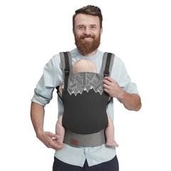 Рюкзак-переноска Kinderkraft Milo Black