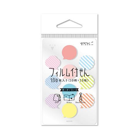 Стикеры Midori Sticky Paper Film Mini - Fukidashi-gara