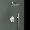 Встраиваемый смеситель для душа с душевым комплектом TITANIUM K1815022 на 2 выхода - фото №2