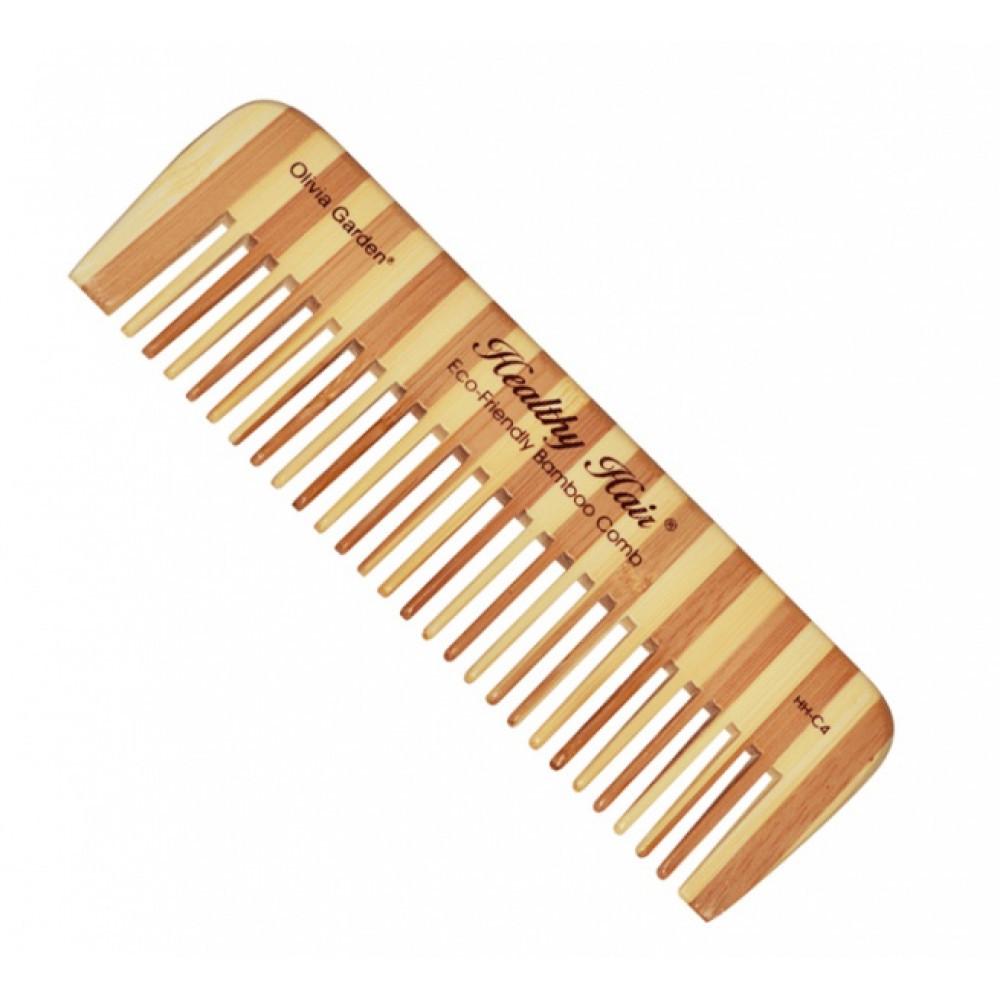 Расческа для стрижки бамбуковая Hair Comb 4