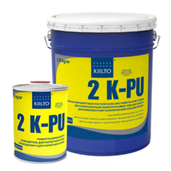 Клей для паркета Kiilto 2K PU двухкомпонентный полиуретан компонент A