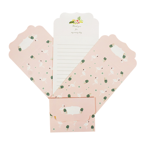 Набор открыток Flamingo