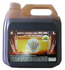 Концентрированный охмеленный пшеничный солод КПК, 4 кг на 20 л