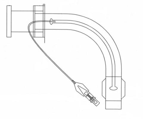 Эиртек Б - трахеостомическая трубка с обтуратором, с манжетой