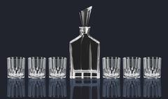 Набор для виски Nachtmann Aspen, декантер и 6 стаканов, фото 3