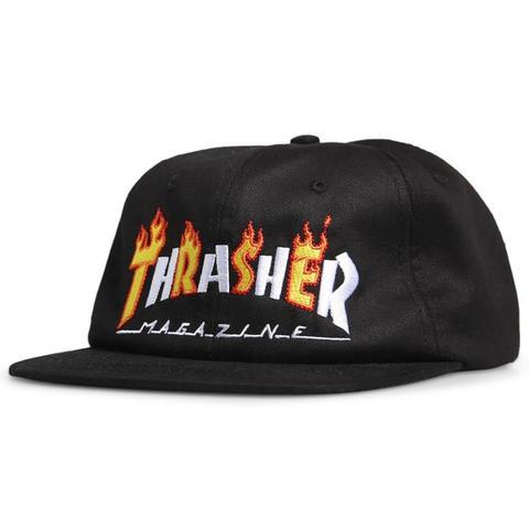 Кепка THRASHER FLAME MAG SNAPBACK BLACK