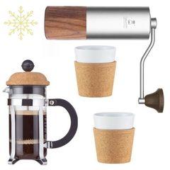 Подарок любимой жене на новый год: набор аксессуаров для кофе