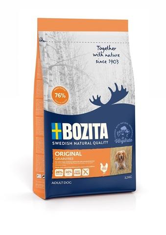 Bozita Grain Free Original 26/16 Сухой корм для взрослых собак с нормальным уровнем активности (беззерновой)