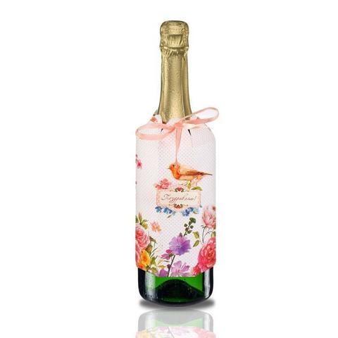 Набор для украшения подарочной бутылки
