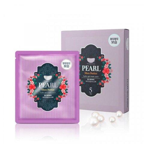 KOELF Гидрогелевая маска для лица с жемчугом и маслом ши Pearl & Shea Butter Mask