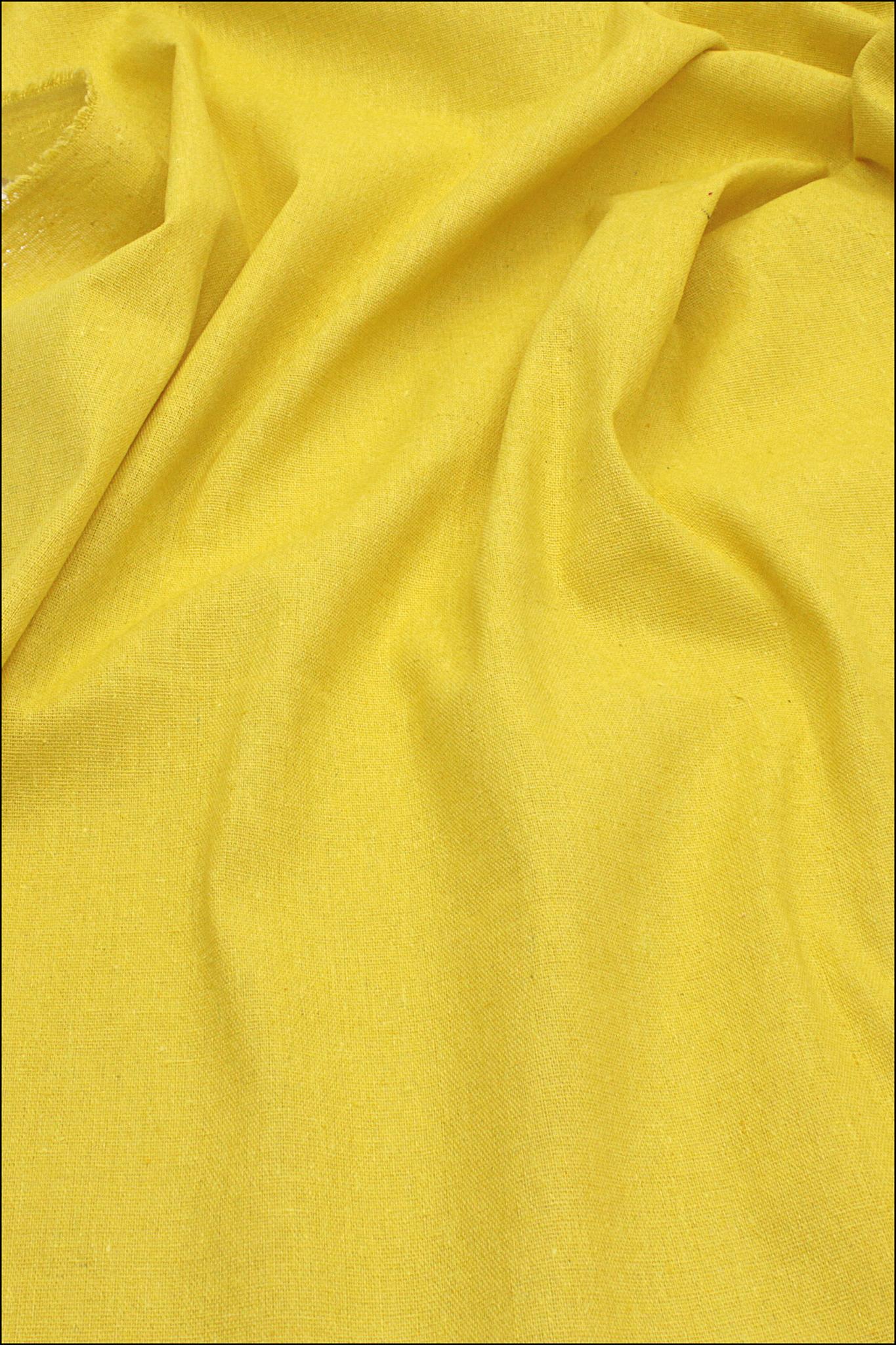 Желтое солнце, хлопок-лен