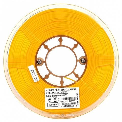 ESUN PLA+ 1.75 мм 1кг., желтый