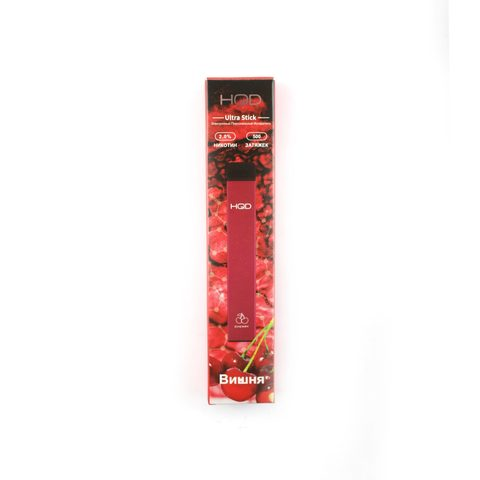 Одноразовая электронная сигарета HQD Ultra Cherry (Вишня)